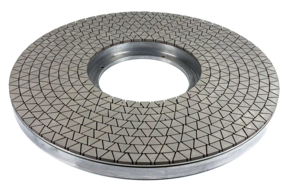 Vitrified fine honing / lapping diamond grinding wheel