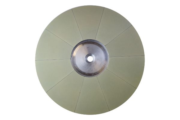 Resinous top & bottom flat honing and fine grinding wheel 2