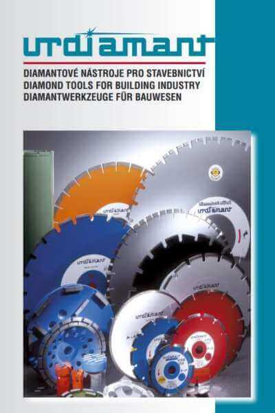Diamond tools for construction industry