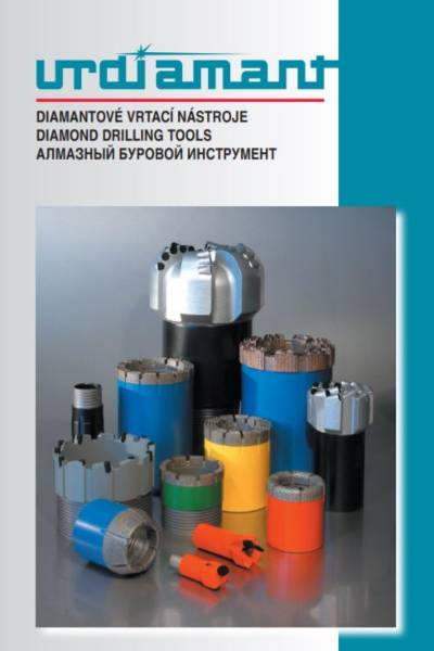 Diamond drilling tools