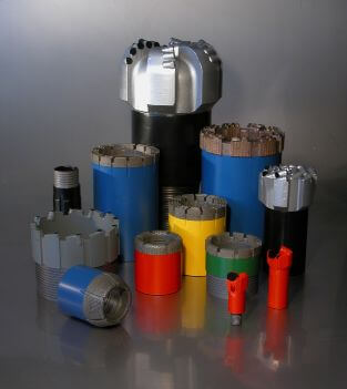 CORING AND NON-CORING BITS FOR GEOLOGICAL SURVEY AND MINING