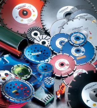 DIAMOND SAW BLADES AND OTHER TOOLS FOR CONSTRUCTION INDUSTRY AND SPECIAL MATERIALS